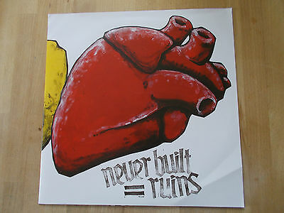 Never built ruins Same s/t Twisted Chords 2011 Germany LP white vinyl °