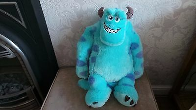 Large Disney Pixar Monsters University Sully Plush Kids Toy Monsters Inc 21""