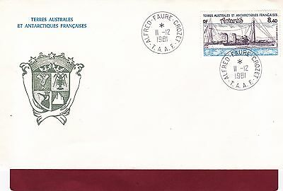 ENVELOPPE  1er JOUR- FDC :  1981 T. A.A.F. ANTARES