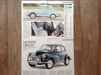 Morris Minor Saloon (1948-71) - Classic Buying Guide Article