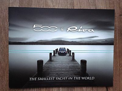 NEW FIAT 500 RIVA Special Edition Brochure - August 2016