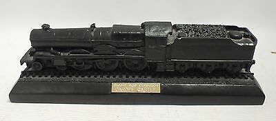 Vintage STEAM AGE COLLECTION 'Cardiff Castle' TRAIN MADE FROM REAL COAL!  - I04