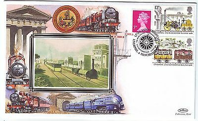 GREAT BRITAIN RAILWAY 2005 *175th ANNIVER:OPENING LIVERPOOL-MANCHESTER RAILWAY*