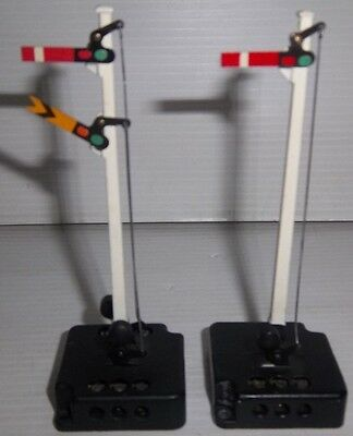 2 Hornby Dublo Oo Gauge Home & Distant Electric Points