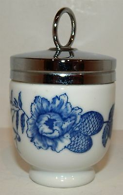 "Delightful Single Size Egg Coddler From Royal Worcester - ""rhapsody"" Design"