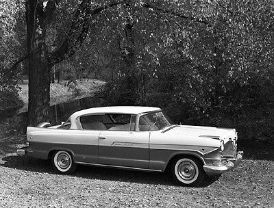1957 Hudson Hornet Hollywood Factory Photo ca6404