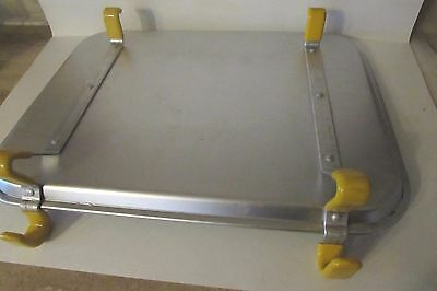 Vintage TRACO Dallas Car Hop Aluminum Drive-In Tray EXC COND FREE US SHIPPING