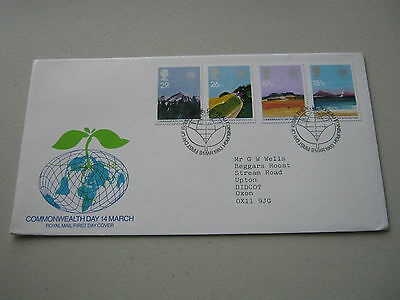 FDC - 1983 - Commonwealth Day - with Bureau cancel (1735)