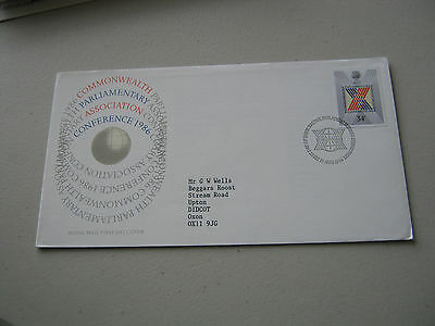 FDC - 1986 - Parliamentary Conference - with Bureau cancel (1735)