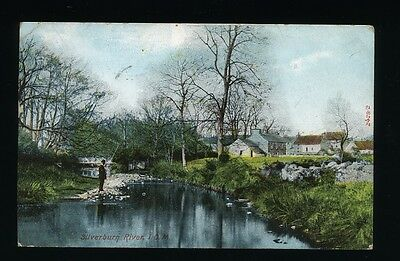Isle of Man. Silverburn River. Posted 1906