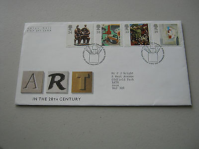 FDC - 1993 - Art in the 20th Century - with Bureau cancel (1740)