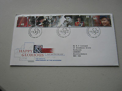 FDC - 1992 - Glorious Forty - with Bureau cancel (1740)