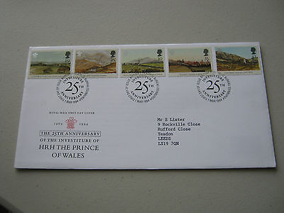 FDC - 1994 - Prince of Wales 25th - with Bureau cancel (1740)