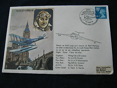 Flown Cover -1976 - 50th Anniversary of flight GB to Australia- BF1535PS (1855)