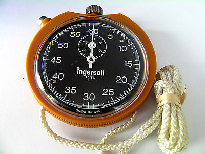 Ingersoll 1/5th Second Vintage Sports Watch Stopwatch