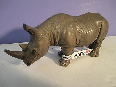 Schleich RHINO with tag - RHINOCEROS