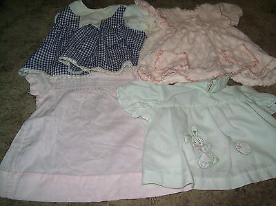 lot of vintage doll clothes for larger dolls