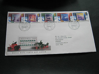 1988 - FDC - Christmas - with Special Bethlehem cancel (1540)