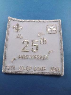 GIRL GUIDES CANADA 25 th ANNIVERSARY CO-OP CAMP 1979 2003 PATCH COLLECTOR