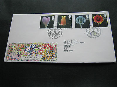 1987 - FDC - Flowers - with Special Richmond cancel (1540)
