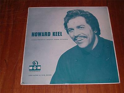 HOWARD KEEL - Greatest Screen Successes - MGM D-146 - 1958 - 10 INCH LP