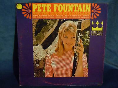 PETE FOUNTAIN & THE KINGS OF DIXIELAND - CROWN CLP 5537 - USA - 60s MINT SEALED