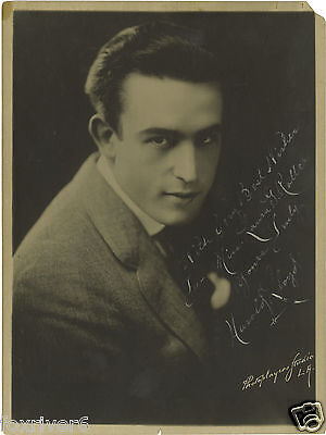 HAROLD LLOYD Signed Photograph - Silent Comedy Film Star Actor