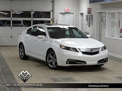 2013 Acura TL  13 acura tl tech awd auto navi gps rear cam els heated seats roof bluetooth