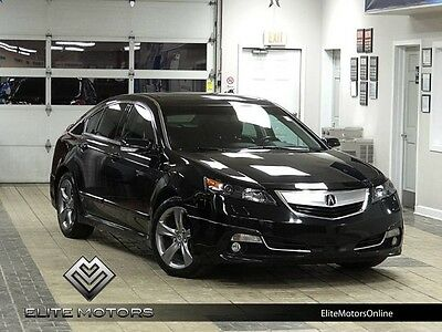 2012 Acura TL SH-AWD Sedan 4-Door 12 acura tl awd tech navi gps alloys els hid auto roof keyless go