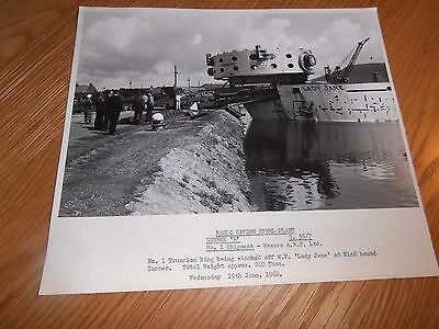 Original Photo, M.V Lady Jane,with Delivery for B.O.S plant at Port Talbot Dock