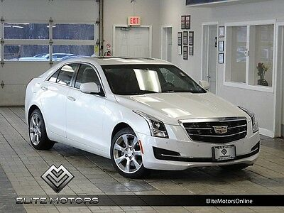 2016 Cadillac ATS  16 cadillac ats luxury sedan awd power roof rear view cam bose heated leather