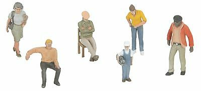 MTH 30-11072, O Gauge, 6-Piece Figure Set  #8- Assortment #2