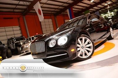 2014 Bentley Flying Spur  14 BENTLEY CONTINENTAL FLYING SPUR REAR ENT NAVI REAR CAMERA MOONROOF
