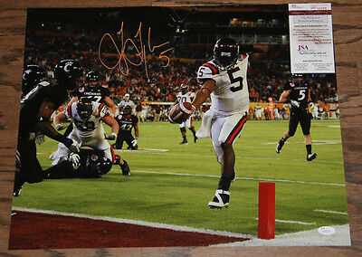 Tyrod Taylor Signed Autographed 16X20 Photo Jsa Witnessed Wp66058 Virginia Tech