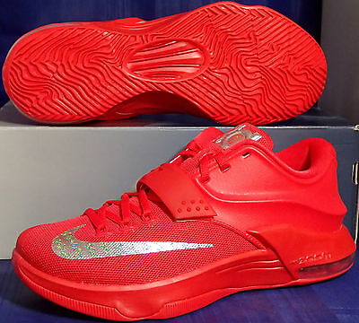 free shipping 2430f 1c3ba Nike KD VII 7 Global Games Red October Kevin Durant SZ 12 ( 653996-660