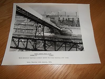 Mounted,1969 photo,BOS Plnt Scheme 'A',main materials Handling, Abbey Works,