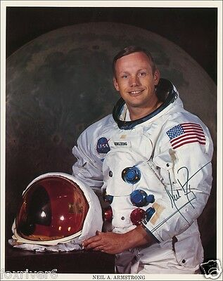 NEIL ARMSTRONG Signed Photograph - Apollo XI Astronaut - First Man On The Moon