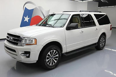 2016 Ford Expedition  2016 FORD EXPEDITION XLT EL ECOBOOST NAV REAR CAM 34K #F33574 Texas Direct Auto