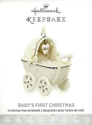 Hallmark 2017 Baby's First Christmas Ornament