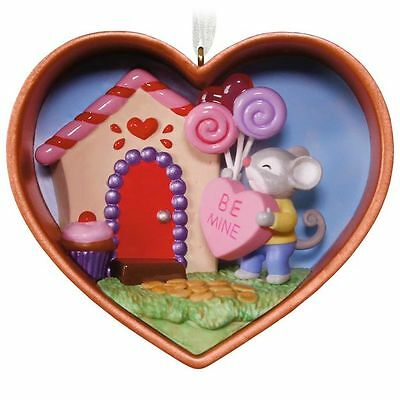 Hallmark 2017 Be Mine, Valentine Cookie Cutter Mouse! Ornament 1st in the Series