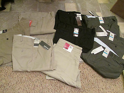 New Lot 9 Pairs Mens Pants Chaps Kenneth Cole Perry Ellis Mens 36X30 Closeout