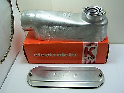 vKillark Mogul Service Entrance Elbow 2 Inch With Cover & Gasket New Old Stock