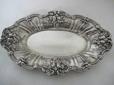 Fantastic Reed And Barton Francis 1St Large Sterling Bread Plate 12""