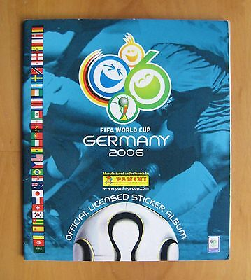 PANINI Germany 2006 World Cup COMPLETE Football Sticker Album *VG Condition*