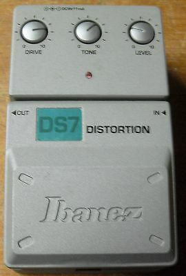 Vintage Ibanez DS7 Guitar Effect Distortion Pedal As-is