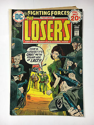 Our Fighting Forces #149 VG+ 1974 DC comic The Losers