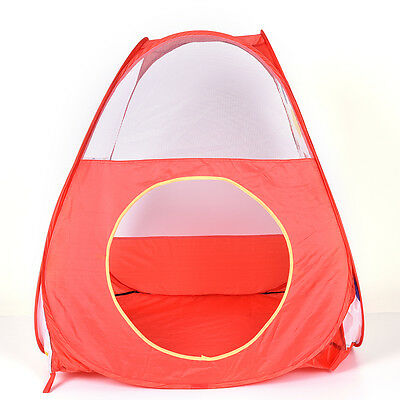polka Dot Design Outdoor Pop Up Children Kids Tent Party Play Toy House TunnelLA