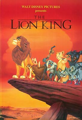 The Lion King style 3 1994 single sided one sheet - 27x40 rolled - free shipping