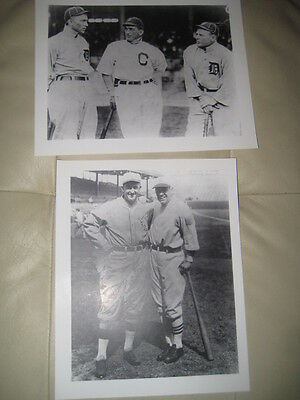 Ty Cobb 8 X 10 Unsigned Picture