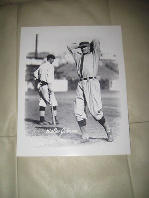 Walter Johnson 8 X 10 Unsigned Picture